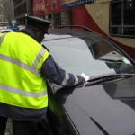 Parking person