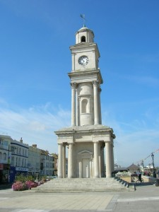 The Clock Tower, Herne Bay believed to be the earliest purpose-built, free-standing clock tower in the World.